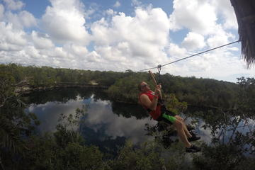 Mayan Jungle Experience in Tulum: Ziplining, Canoe
