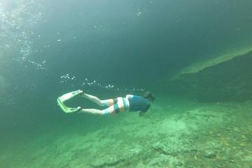 Recorrido de aventura a un triple cenote en Tulum