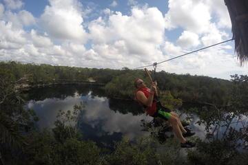 Tulum Jungle Experience: Zipline, Canoe, Snorkel