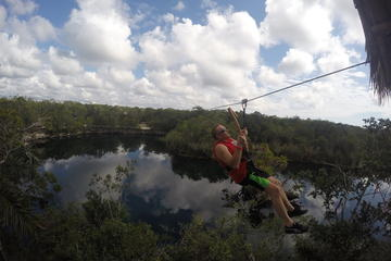 Tulum Jungle Experience: Ziplining, Canoeing, and Snorkeling