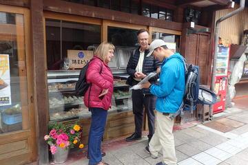 高山の料理と文化を楽しむ1日ウォーキング ツアー