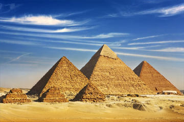 Ganztägige Tour zu den Pyramiden von Gizeh Memphis und Sakkara