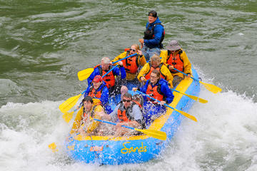 Day Trip 8 Mile Whitewater Rafting 8 Man Boat near Jackson, Wyoming
