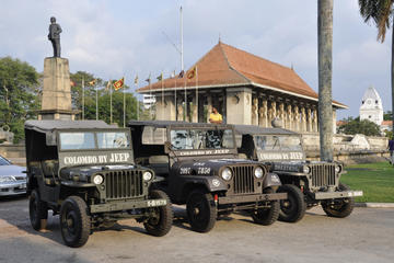 Private Colombo City Jeep Tour