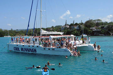 Dunns River Falls Party boat with Snorkling