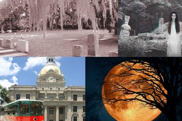 Savannah Ghost Tour and Trolley Tour Combo