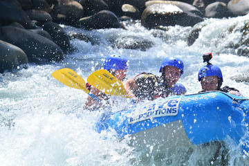 Full Day Class II-III Rafting, Waterfall hike and Horse Back riding from La Fortuna-Arenal