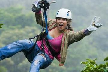 Zipline Treetop Canopy Tour from...