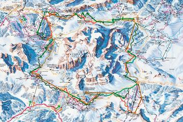 Tour sciistico sulle Dolomiti - Sellaronda da Cortina d'Ampezzo
