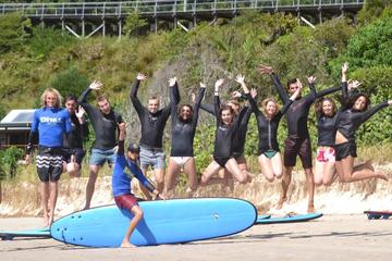Byron Bay Surfing Lesson and Mount Warning Sunrise Climb Including...