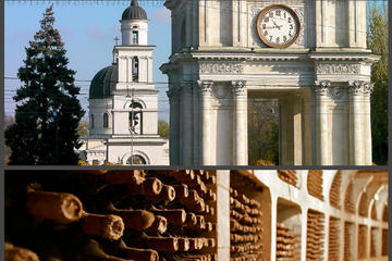 Chisinau City tour and Cricova winery in one day