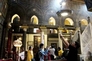 Private Half-Day Tour to Coptic Cairo with Hanging Church, Abu Serga Church, Santa Barbara and Ben Ezra Synagogue