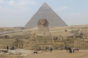 Visita de dia inteiro para as pirâmides de Gizé, Fênix, Museu Egípcio...