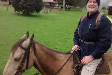 Excursión privada de equitación en Bogotá