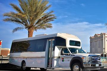Traslado privado de ida y vuelta al aeropuerto de Las Vegas: minibús...