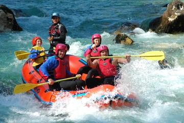 Aventure en rafting sur la rivière Soca au départ de Bovec