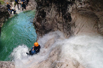 Canyoning in der Schlucht Sušec ab Bovec