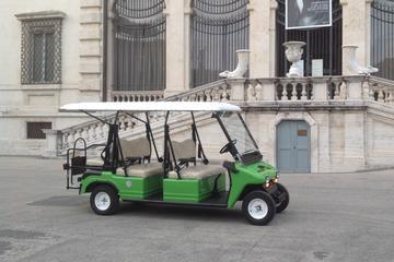 Carrinho de golfe ao redor de Roma...