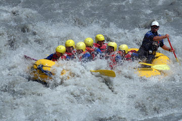 Rafting sur la rivière Lütschine au départ d'Interlaken