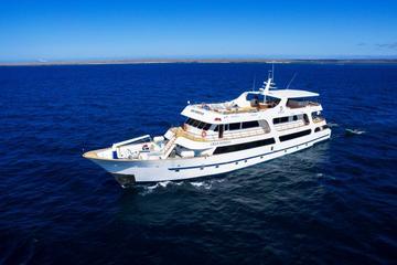 Cruzeiro de luxo em Galápagos...