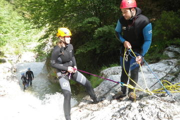 Canyoning in the Fratarica Canyon of...