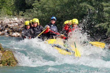 Rafting sull'Isonzo