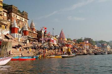 Private Full Day Varanasi Cultural Tour with Boat Ride