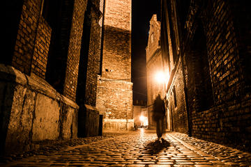 Prague After Dark Ghost and Legends Walking Tour 90 minutes