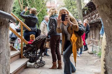 Tour privato alternativo a piedi della durata di 2 ore a Vilnius