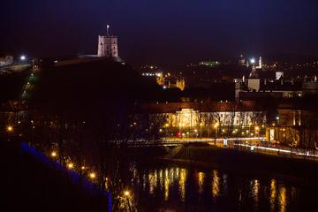 Tour serale a piedi privato di 2 ore dei fantasmi a Vilnius