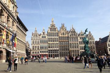 2 uur durende stadstour door Antwerpen per segway