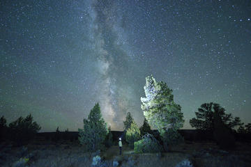 Day Trip Night Sky Private Photo Tour near Bend, Oregon