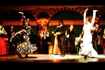 Espectáculo flamenco en Sevilla