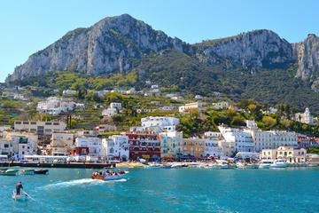 Promenade en bateau à Capri au départ de Sorrente
