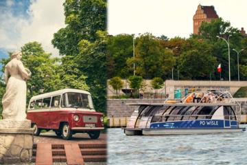 Best of Warsaw in Retro Nysa Van and Luxury Boat