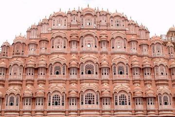 Visite privée d'une journée à Jaipur avec déjeuner