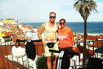 Excursão de segway guiada de 1 hora no centro de Lisboa