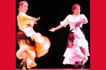 Balé de flamenco de Carolina Lugo e Carolé Acuña