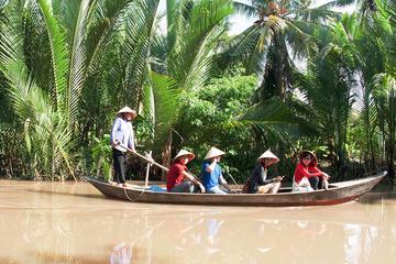 Excursion d'une journée en petit groupe dans le delta du Mékong au...