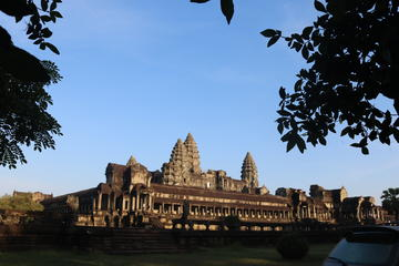One day Angkor temple tour with private driver