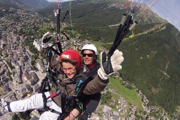 Acrobatic  Paragliding Tandem Flight !