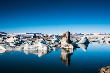 Dagtrip naar de gletsjerlagune Jökulsárlón vanuit Reykjavik