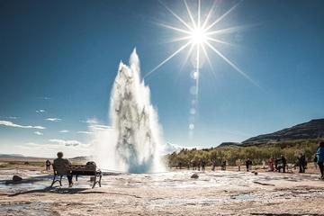 Heldagstur från Reykjavik till Gyllene cirkeln