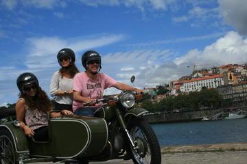 Tour door Porto vanuit een zijspan