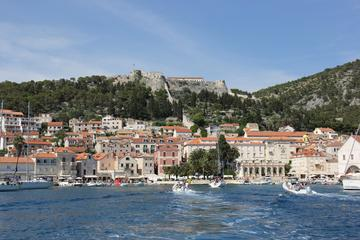 Private 3 islands Tour With Speed boat to Hvar and Pakleni islands from Trogir