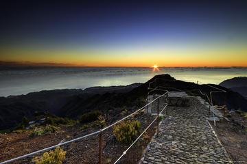 Madeira Sunrise at highest Madeira...