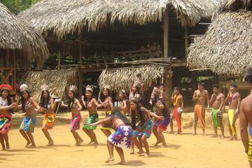 Day Trip to the Embera Drua Village