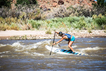 Day Trip Whitewater SUP near Moab, Utah