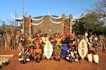Circuit culturel zoulou d'une journée complète à Durban