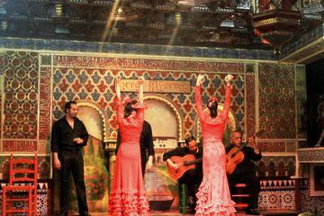 Espectáculo de flamenco con clase desde Madrid